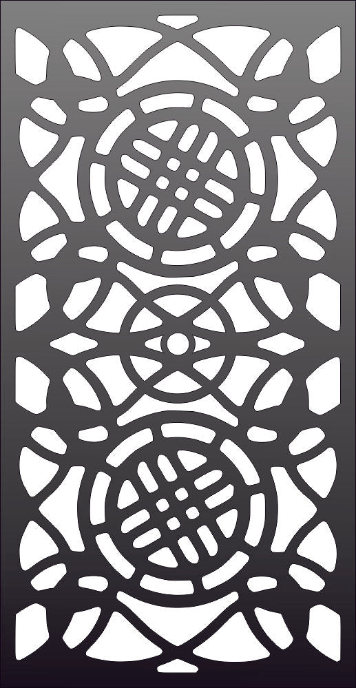 PANEL SCREEN design  plasma Laser router Cut -CNC Vector DXF-CDR AI JPEG  PANEL N331
