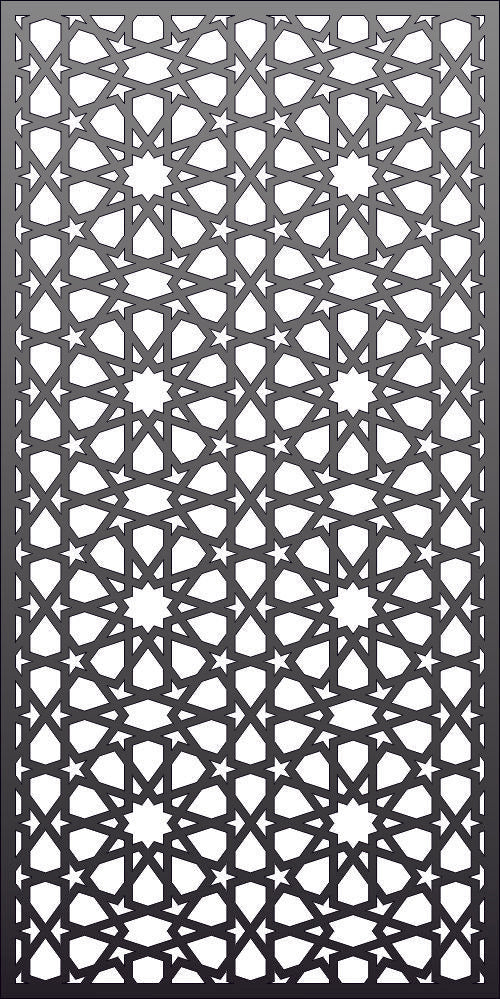 PANEL SCREEN design  plasma Laser router Cut -CNC Vector DXF-CDR AI JPEG  PANEL N334