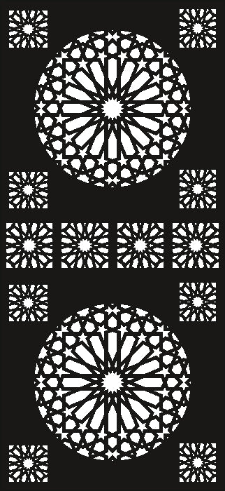 design  plasma Laser router Cut -CNC Vector SVG-DXF-CDR AI JPEG  PANEL N370
