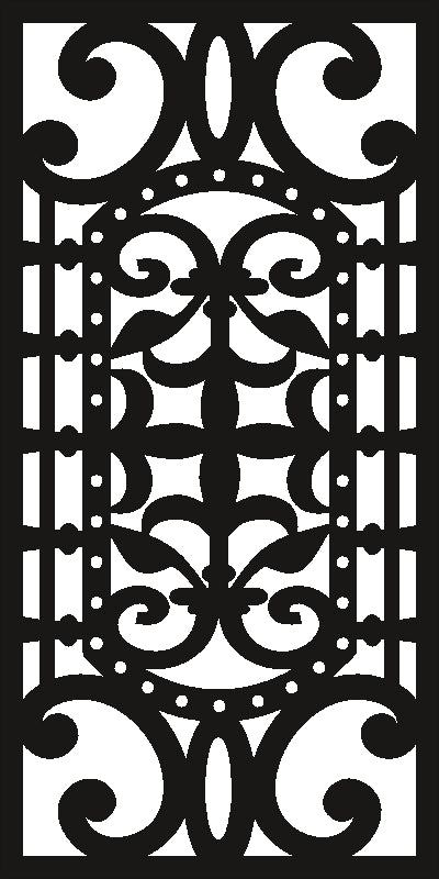 screen design  plasma Laser router Cut -CNC Vector SVG-DXF-CDR AI JPEG  PANEL N388