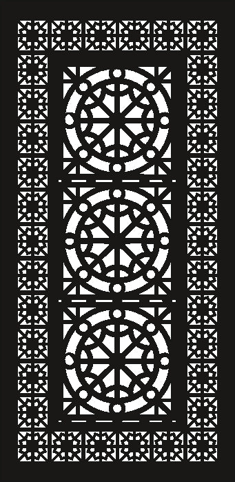 PANEL design cnc plasma Laser router Cut -CNC Vector SVG-DXF-CDR AI JPEG  PANEL N398