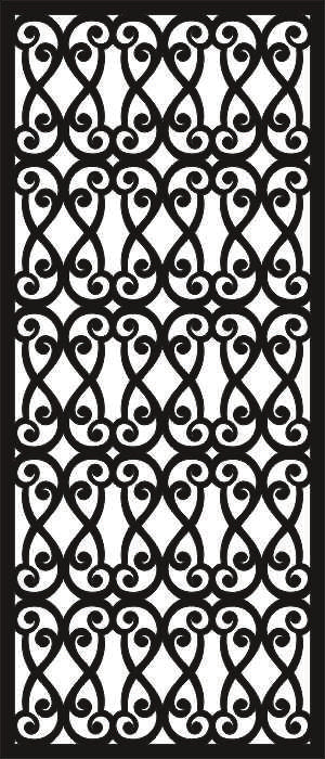 PANEL GATE PATTERN design cnc plasma Laser router Cut -CNC Vector SVG-DXF-CDR AI JPEG   N431