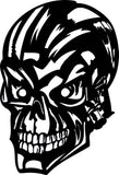 SKULL DXF of PLASMA ROUTER LASER  Cut -CNC Vector DXF-CDR-AI-JPEG