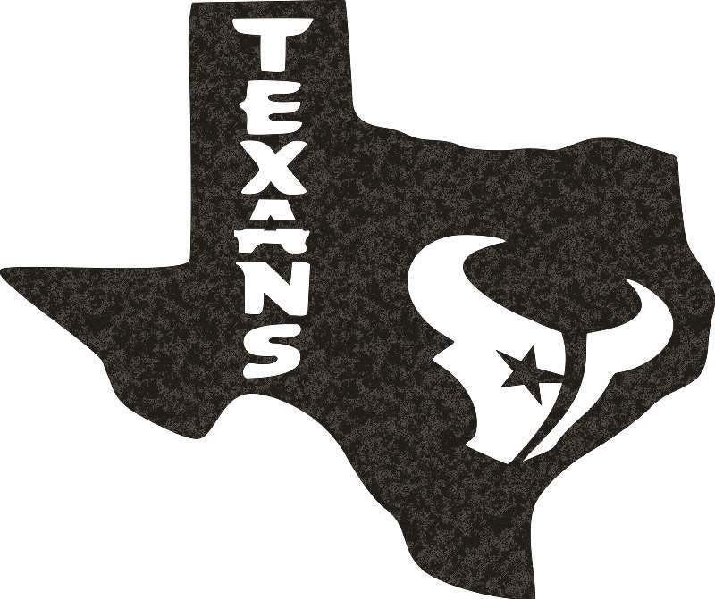 TEXAS DXF of PLASMA ROUTER LASER  Cut -CNC Vector DXF-CDR-AI-JPEG