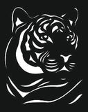 TIGER SVG-DXF of PLASMA ROUTER LASER  Cut -CNC Vector DXF-CDR-AI-JPEG