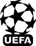 sign UEFA LOGO of PLASMA ROUTER LASER  Vector SVG-DXF-CDR-AI-JPEG