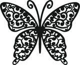 BUTTERFLY DXF of PLASMA ROUTER LASER  Cut -CNC Vector DXF-CDR-AI-JPEG V15