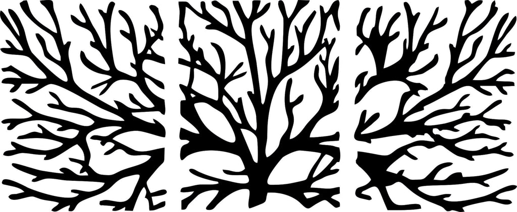TREE DXF of PLASMA ROUTER LASER  Cut -CNC Vector DXF-CDR-AI-JPEG V21