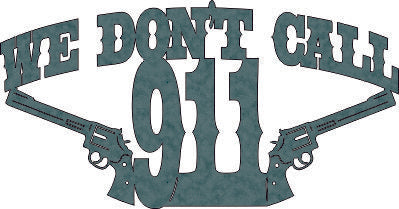 WE DON T CALL 911 DXF of PLASMA ROUTER LASER  Cut -CNC Vector DXF-CDR-AI-JPEG