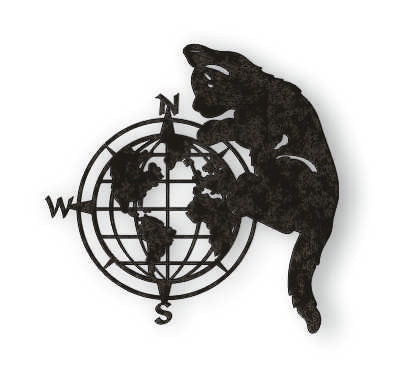 WORLD AND CAT DXF of PLASMA ROUTER LASER  Cut -CNC Vector DXF-CDR-AI-JPEG