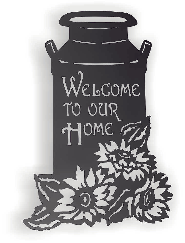WELOCME TO OUR HOME FARM DXF of PLASMA ROUTER LASER  Cut -CNC Vector DXF-CDR-AI-JPEG