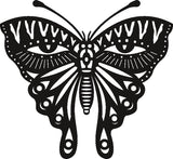 butterfly eyes DXF of PLASMA ROUTER LASER  Cut -CNC Vector SVG-DXF-CDR-AI-JPEG