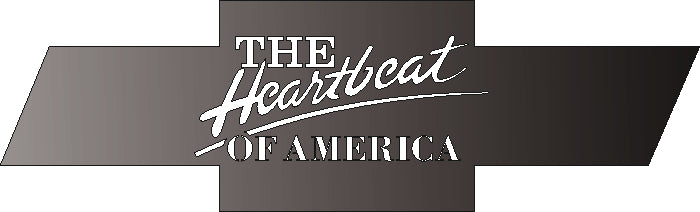 chevrolet the heart beat of america DXF of PLASMA ROUTER LASER  Cut -CNC Vector DXF-SVG-CDR-AI-JPEG
