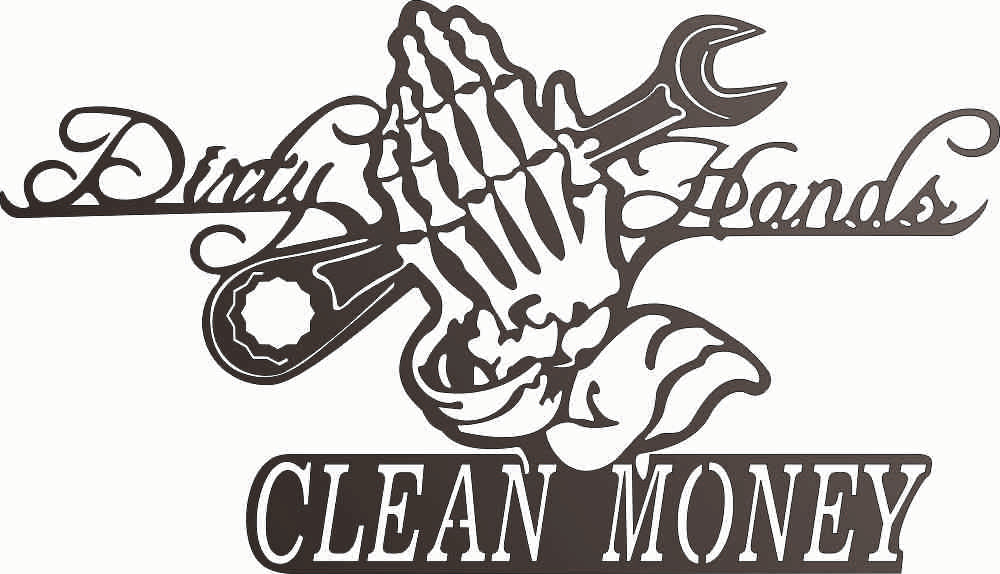 clean money DXF of PLASMA ROUTER LASER  Cut -CNC Vector DXF-CDR-AI-JPEG