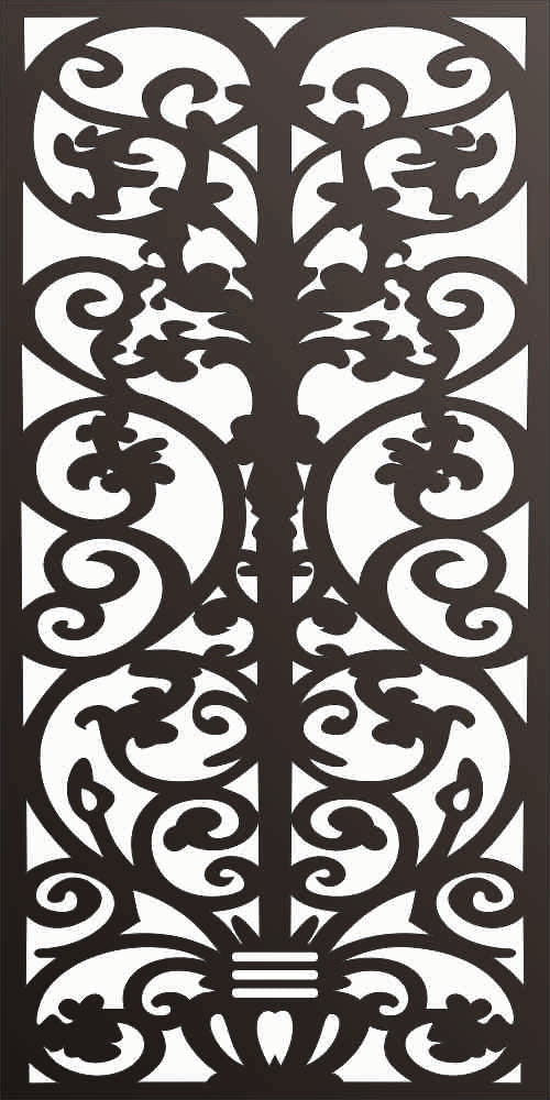 panel design dxf  plasma Laser router Cut -CNC Vector DXF-CDR AI JPEG  PANEL f105