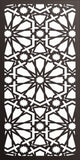 panel design dxf  plasma Laser router Cut -CNC Vector DXF-CDR AI JPEG  PANEL f138