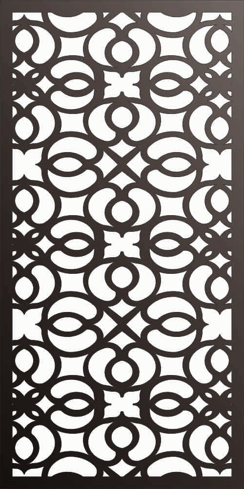 PANEL DXF of PLASMA ROUTER LASER  Cut -CNC Vector DXF-CDR f164