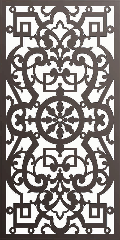 PANEL DXF of PLASMA ROUTER LASER  Cut -CNC Vector DXF-CDR f166