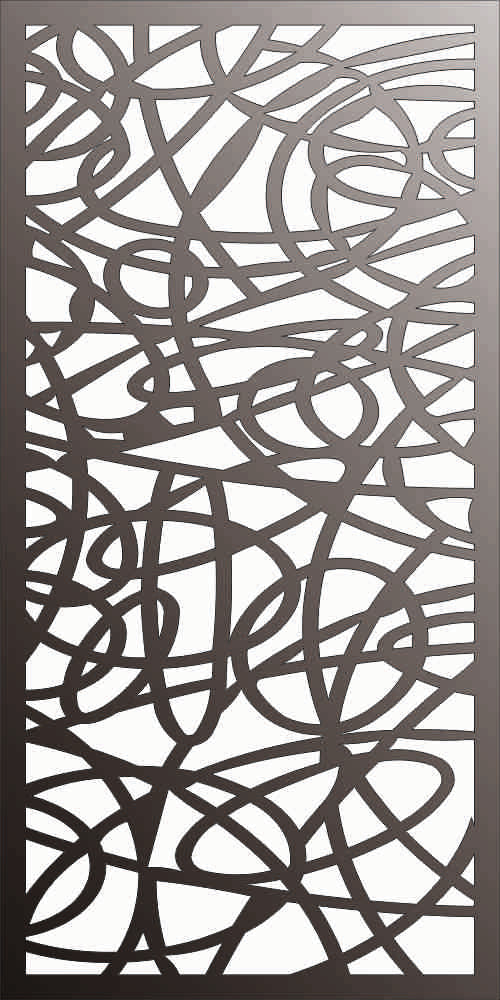 PANEL DXF of PLASMA ROUTER LASER  Cut -CNC Vector DXF-CDR f167