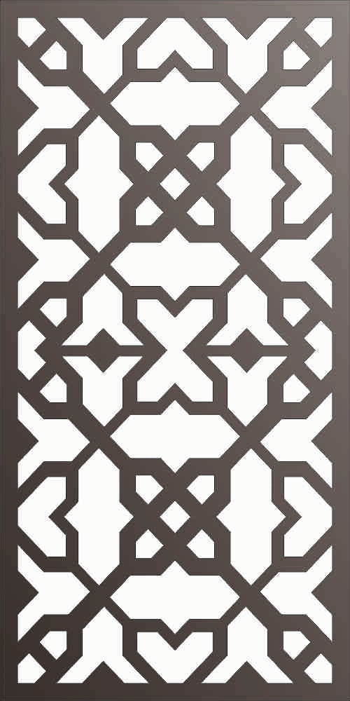 PANEL DXF of PLASMA ROUTER LASER  Cut -CNC Vector DXF-CDR f169