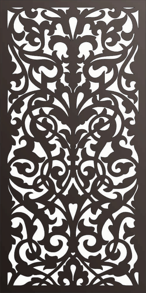 PANEL DXF of PLASMA ROUTER LASER  Cut -CNC Vector DXF-CDR f174