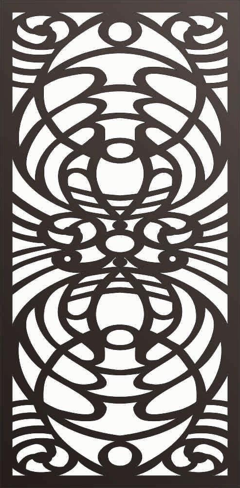 PANEL DXF of PLASMA ROUTER LASER  Cut -CNC Vector DXF-CDR f176