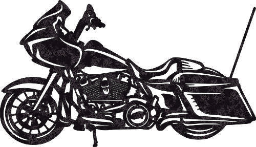 MOTORCYCLE DXF of PLASMA ROUTER LASER  Cut -CNC Vector DXF-CDR-AI-JPEG