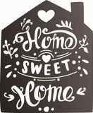 HOME SWEET HOME DXF of PLASMA ROUTER LASER  Cut -CNC Vector DXF-CDR-AI-JPEG