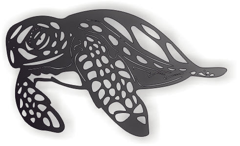MARINE TURTLE DXF  GARGAGE DXF of PLASMA ROUTER LASER  Cut -CNC Vector DXF-CDR-AI-JPEG