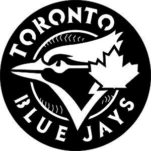 TORONTO BLUE JAYS SVG-DXF of PLASMA ROUTER LASER  Cut -CNC Vector DXF-CDR-AI-JPEG