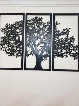 TREE DXF of PLASMA ROUTER LASER  Cut -CNC Vector DXF-CDR-AI-JPEG