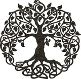 tree life DXF of PLASMA ROUTER LASER  Cut -CNC Vector DXF-CDR-AI-JPEG