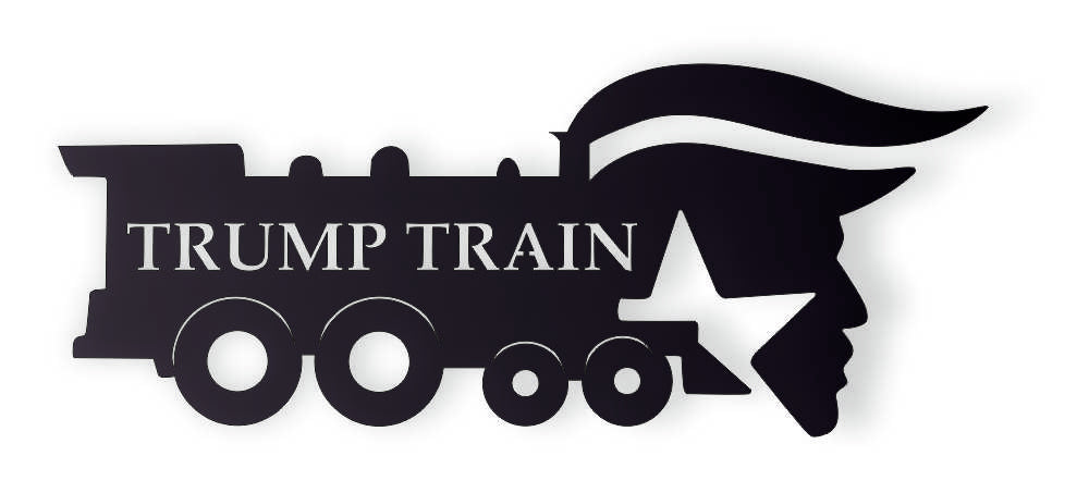 DXF PLASMA ROUTER Laser Cut Vector DXF CDR Files TRUMP TRAIN