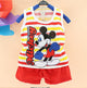 2019 Hot Sale Summer Children's Two-piece set Cotton Suit Children Set Children's Clothing Set Girls Boys Clothing Sets