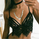2019 Womens Hot Sexy Underwear Sleepwear Bra Lingerie Lace Strap Tanks Hollow-out Camis Bras Top Vest