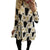 Print Long Sleeve Autumn Winter Christmas Dress Women 2020 Casual Loose Short Party Dress Plus Size S-5XL Vestidos