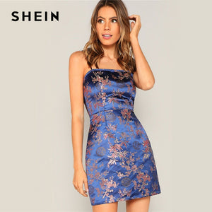Spaghetti Strap Slim Fit Cami Dress