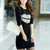 Women Round Neck Long Sleeve Bottoming Shirt Female Autumn Slim Knit Dress
