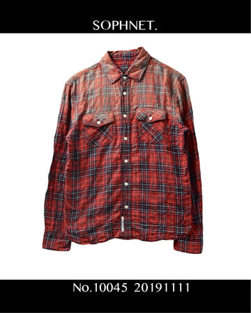 SOPHNET. / Check Shirt / 10045 - 1111 59.6