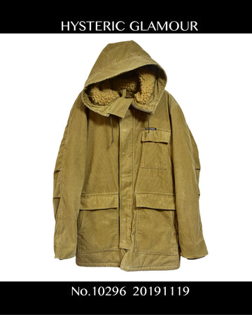 HYSTERIC GLAMOUR / Military Coat / 10296 - 1119 66.64