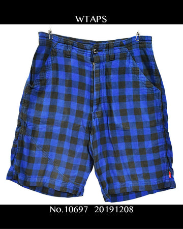 WTAPS / Check Harf Pants / 10697 - 1208 53