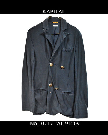 KAPITAL / Tailored Jacket / 10717 - 1209 56.3