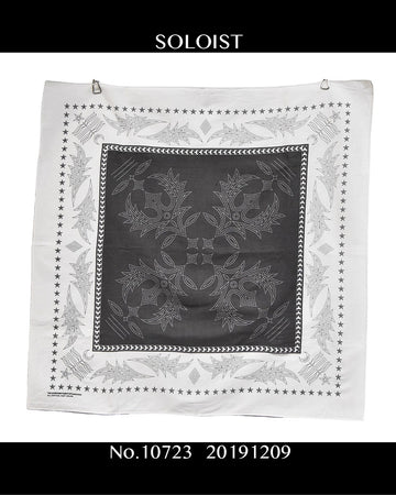 SOLOIST / Graphic Handkerchief / 10723 - 1209 49.7