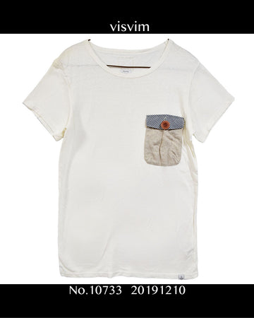 visvim / Pocket T-shirt / 10733 - 1210 50.8