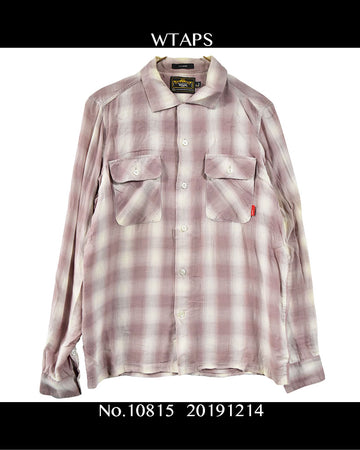 WTAPS / Shadow Check Shirt / 10815 - 1214 53