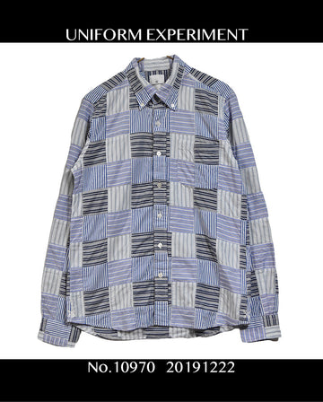 Uniform Experiment/Rebuild Stripe Shirt / 10970 - 1222 69.5