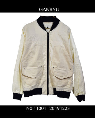 GANRYU / Design Military Jacket / 11001 - 1223 106.02