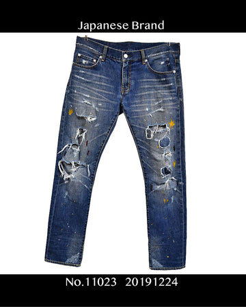 Swagger / Art Paint Denim Pants / 11023 - 1224 35.4