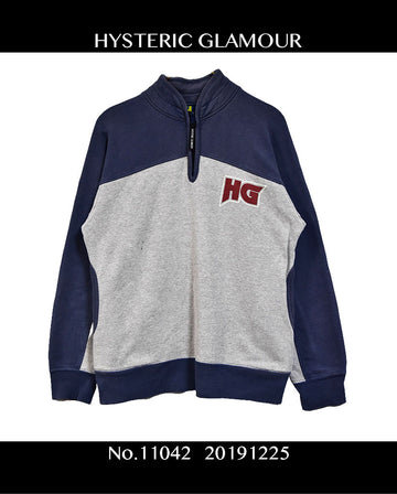 HYSTERIC GLAMOUR / Zipper Sweat Shirt / 11042 - 1225 36.5