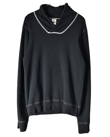 Needles / Black Work Sweat Shirt / 11102 - 1228 42